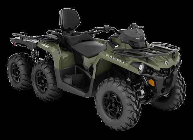 2020 Can-Am Outlander MAX 6×6 DPS 450