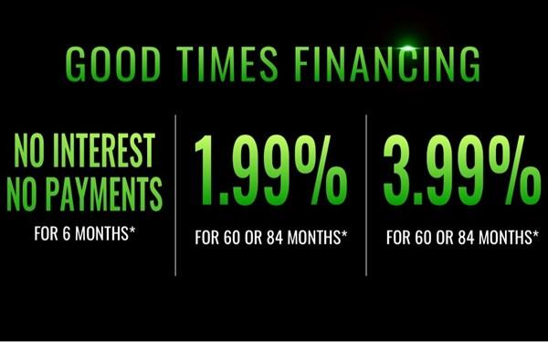 Kawasaki Good Times Financing
