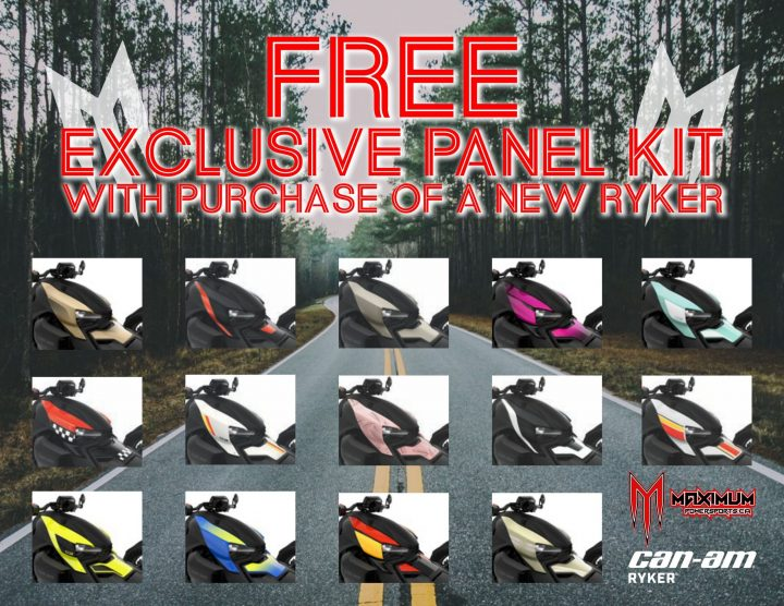 FREE Ryker Exclusive Panel Kit