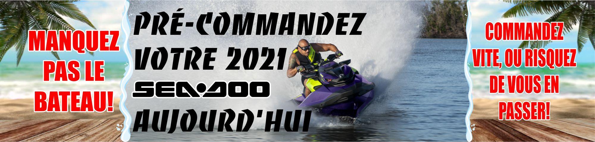 Sea-Doo Pré-commande