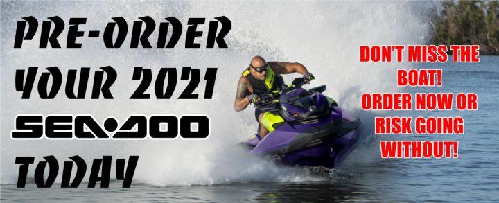 2021 Sea-Doo Pre-Order