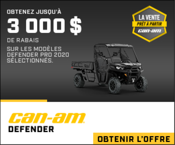 Promo Can-Am hors route Octobre 2020