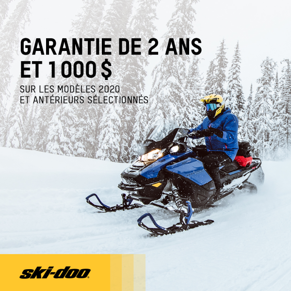 Promotion Ski-Doo Octobre 2020