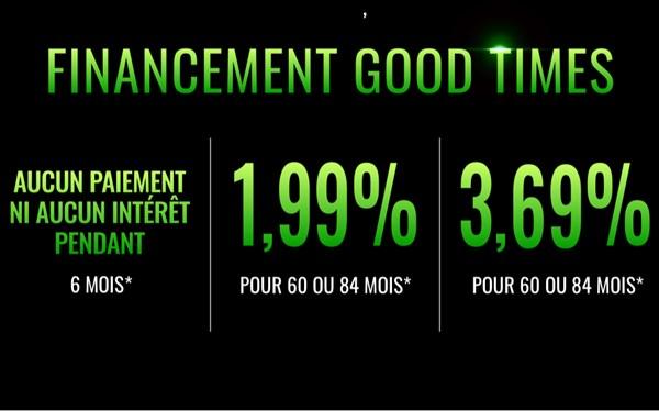 Financement Good Times
