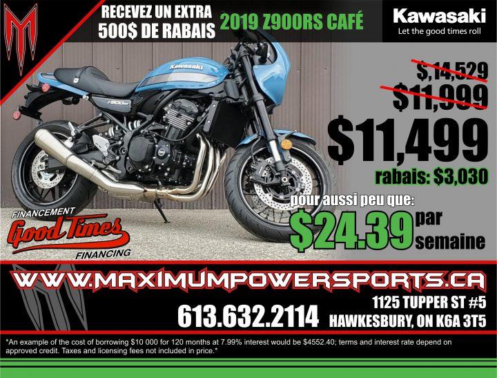 Promo Kawasaki – Z900RS Café 2019