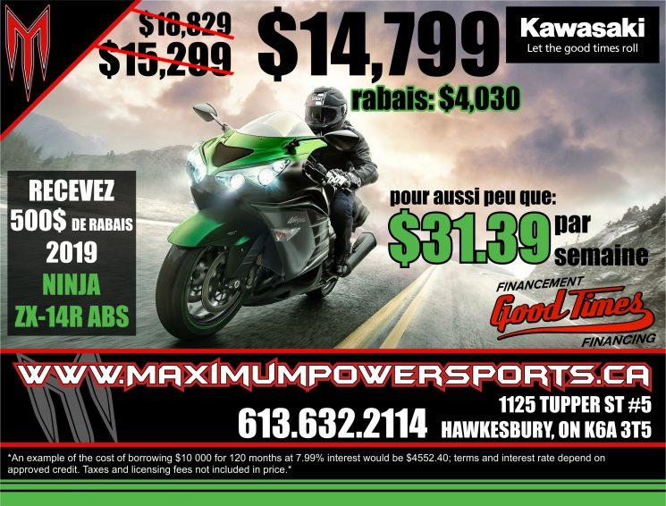 Promo Kawasaki – ZX-14R ABS 2019