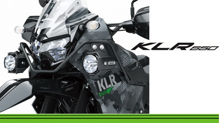Take a sneak peek at the New 2022 KLR 650 from Kawasaki