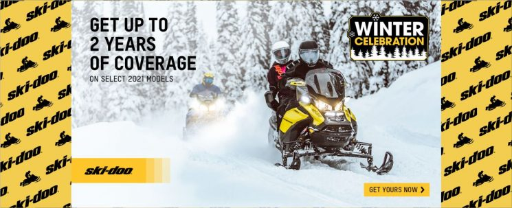 2 years coverage on 2021 Ski-Doo