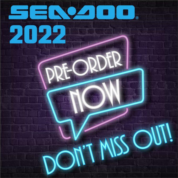 Pre-Commande Sea-Doo 2022