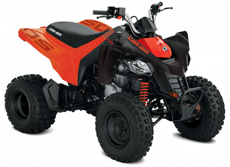 2022 Can-Am DS 250 BLACK/CAN-AM-RED