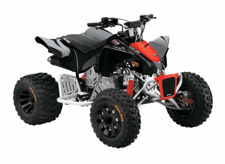 2022 Can-Am DS 90 X BLACK/CAN-AM-RED