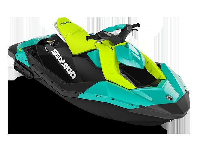 Sea-Doo SPARK 2 up bleu-corail/vert-mante 2022