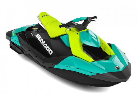 2022 Sea-Doo SPARK 2 up reef-blue/manta-green