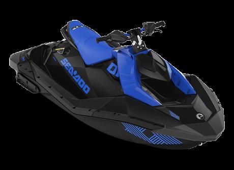 Sea-Doo SPARK TRIXX 2 up bleu-éclatant/noir 2022