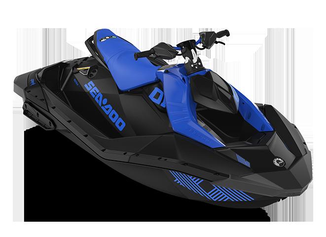 Can-Am SPARK TRIXX 2 up bleu-éclatant/noir 2022