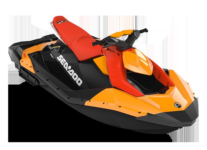 Sea-Doo SPARK 3 up orange-crush/rouge-lave 2022