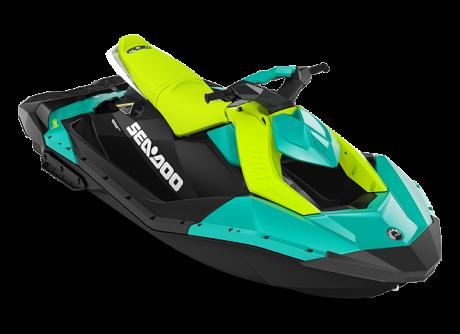 Sea-Doo SPARK 3 up bleu-corail/vert-mante 2022