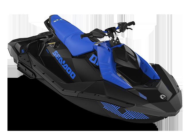 Can-Am SPARK TRIXX 3 up bleu-éclatant/noir 2022